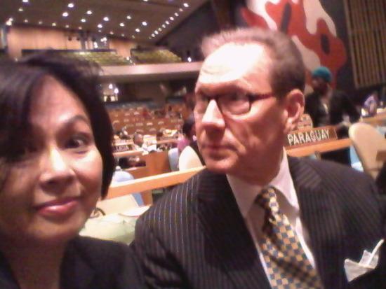 国連主催のコンサートに参加して来ました。