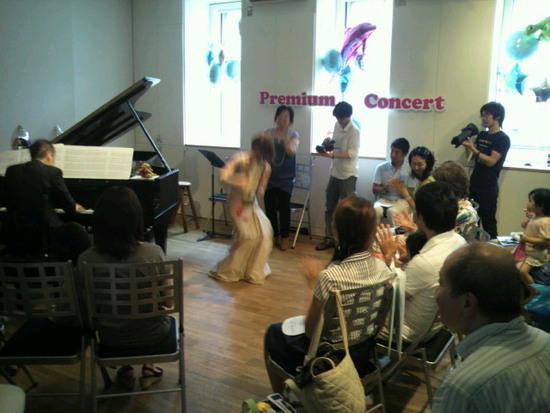 プレミアムコンサートフォーキッズ第三回目は加畑嶺さんと松本あすかさん
