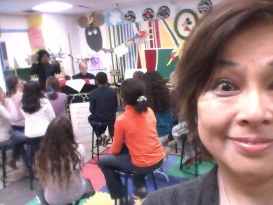 ハンターカレッジの小学校にワークショップをしに行きました!